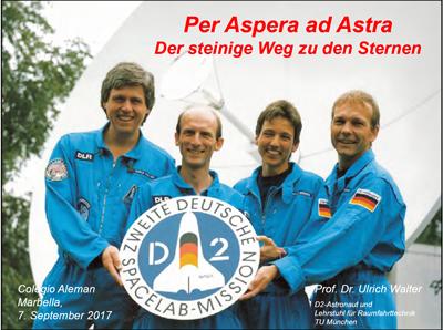 Astronaut Walter